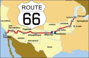 map route 66