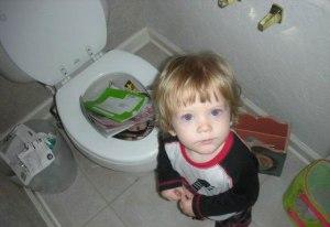 kid toilet books
