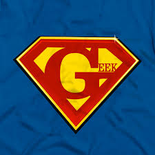 geek superman logo