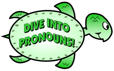 pronoun turtle