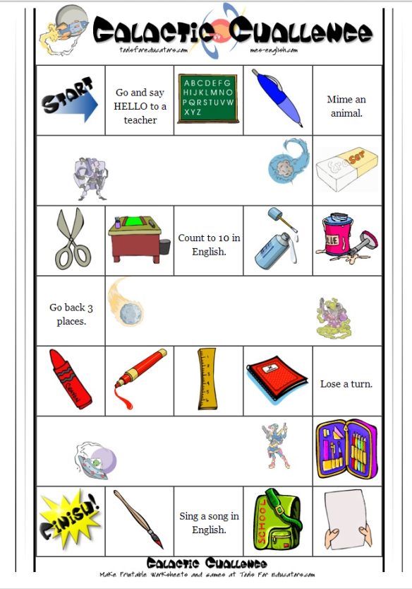 school things board game 3