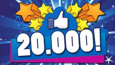 20,000+ fb