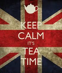 keep calm tea time