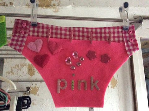 colour knickers pink