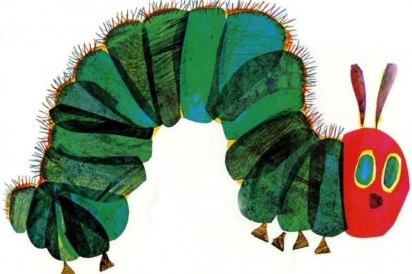vry hungry caterpillar