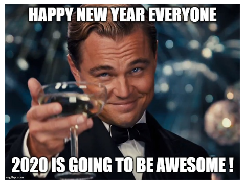 happy new year 2020 leo